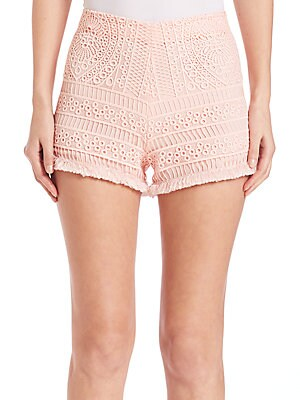 Evelina Embroidered Shorts