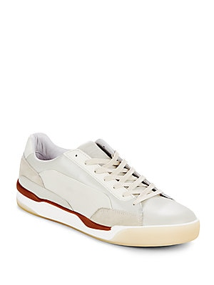 Round Toe Lace-Up Sneakers