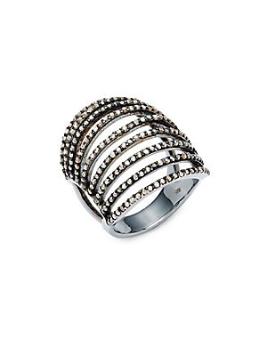 Click here for Champagne Diamond & Sterling Silver Ring prices