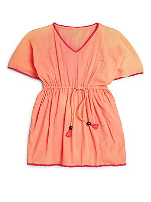 Little Girl's & Girl's Poppy Elasticized Kaftan