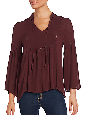 Solid Gathered Top