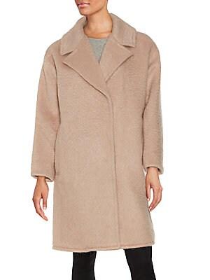 Wool & Mohair Blend Coat