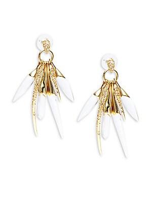 Swarovski Crystal Burst Drop Earrings