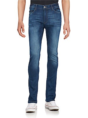 Slim-Fit Washed Jeans