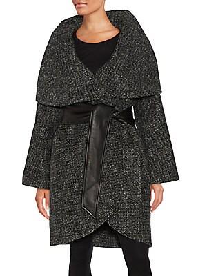Sloan Oversized Wool-Blend Coat