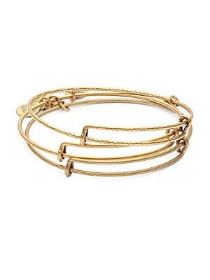 Three-Piece Bangle Bracelet Set