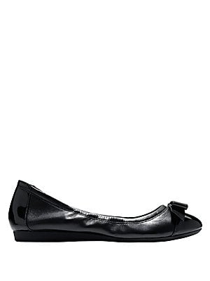 Elsie Leather Ballet Flats