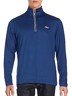 Half-Zip Athletic Jacket