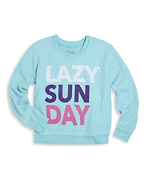 Little Girl's Sunday Sweatshirt