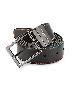 Simulated Leather Belt