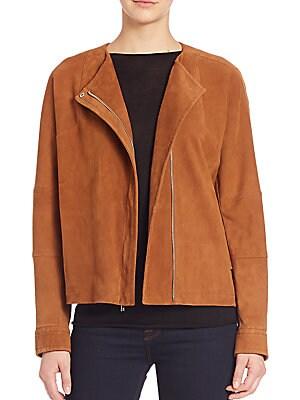 Nubuck Oversized Jacket