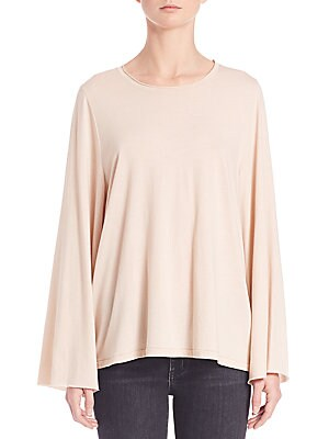 Flared Knit Top