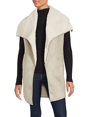 Fall Hard Sherpa Vest