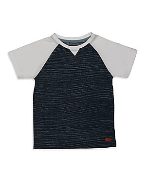 Little Boy's & Boy's Colorblock Tee