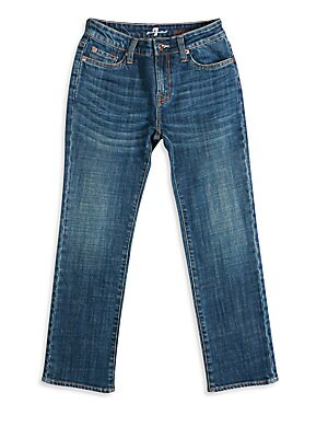 Little Boy's & Boy's Straight-Leg Jeans