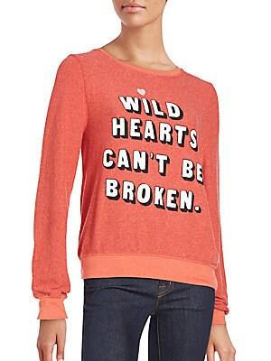 Wild Hearts Scoopneck Pullover