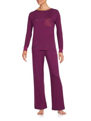Patterned Pajama Set Carole Hochman