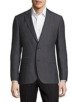Hugo boss pasolini dress pants black 36 wool