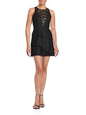 Hanah Tiered Lace Dress