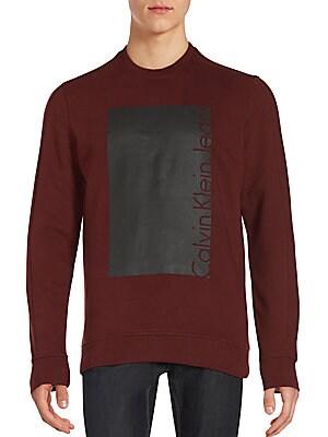 Box Knockout Bordeaux Sweatshirt