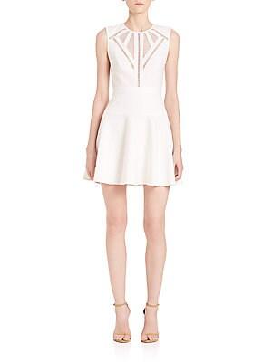 Aynn Cutout Fit-&-Flare Dress