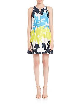 Floral-Print Racerback Dress