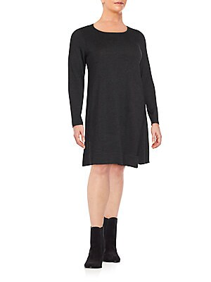 Merino Wool Long Sleeve Dress