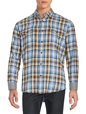 Baxte Cotton Button-Down Shirt