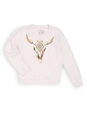 Graphic Solid Pullover