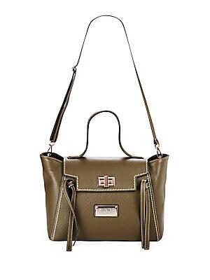 Camilla Leather Shoulder Bag