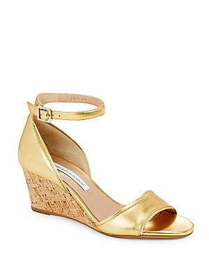 Asti Ankle-Strap Wedges