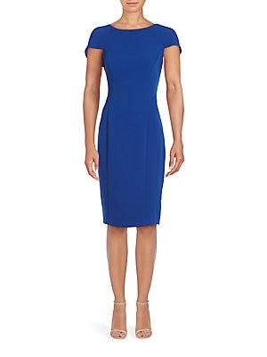 Capelet Sheath Dress