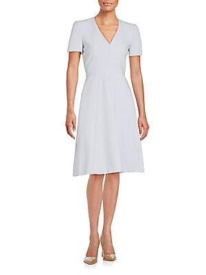 Box Pleated Dress