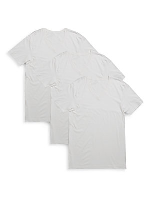 2xist male cotton solid vneck tee