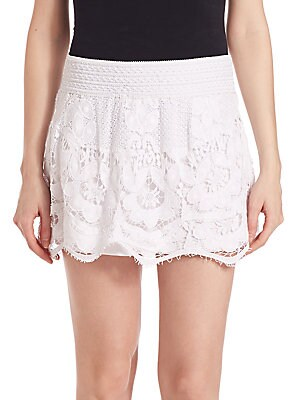 Sonali Lace Mini Skirt