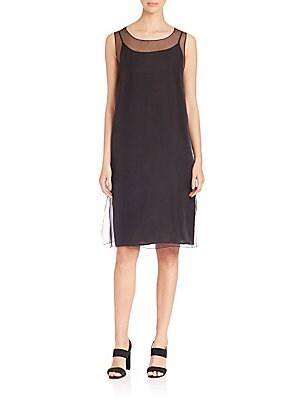Organza Slip Dress