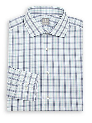 Regular-Fit Cotton Long Sleeve Dress Shirt