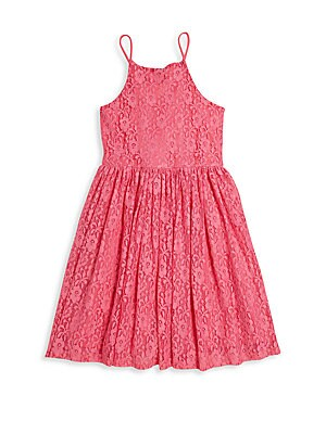 Girl's Bria Floral Bell Dress