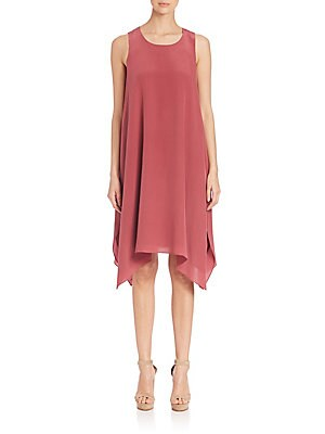 Silk Handkerchief Dress