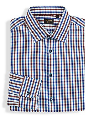 Contrast Check Pattern Shirt