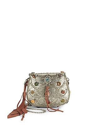 Thana Metal Crossbody Bag