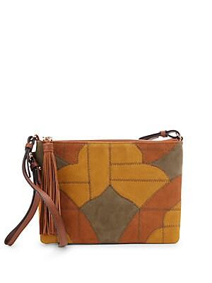 Kelly Patchwork Leather Crossbody Bag