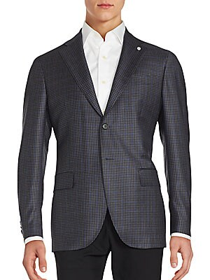 Checked Wool Sportcoat