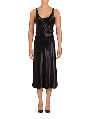 Semi Fitted Scoopneck Dress