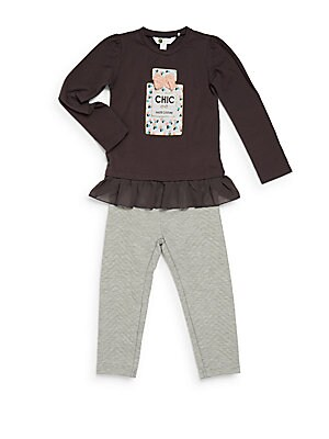 Girl's Two-Piece CHIC Tunic & Pants Set