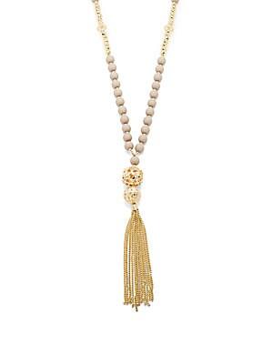 Vintage Inspired Tassel Necklace