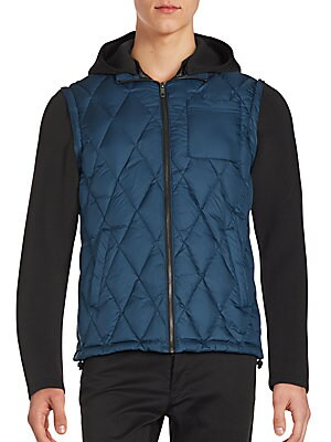 Detachable Sleeve Down-Filled Jacket