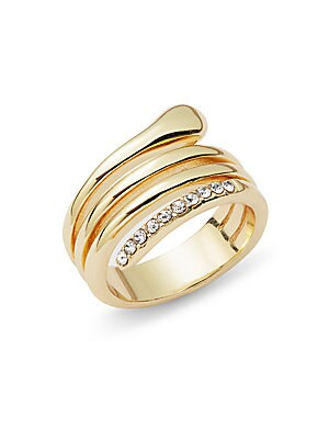 Crystal Glinting Ring