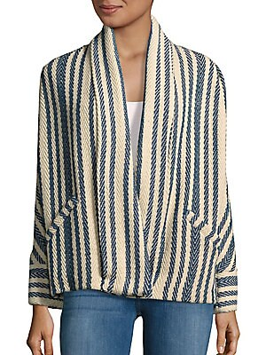 Carson Open Front Cardigan