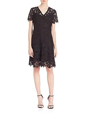 Samira Fit-and-Flare Dress
